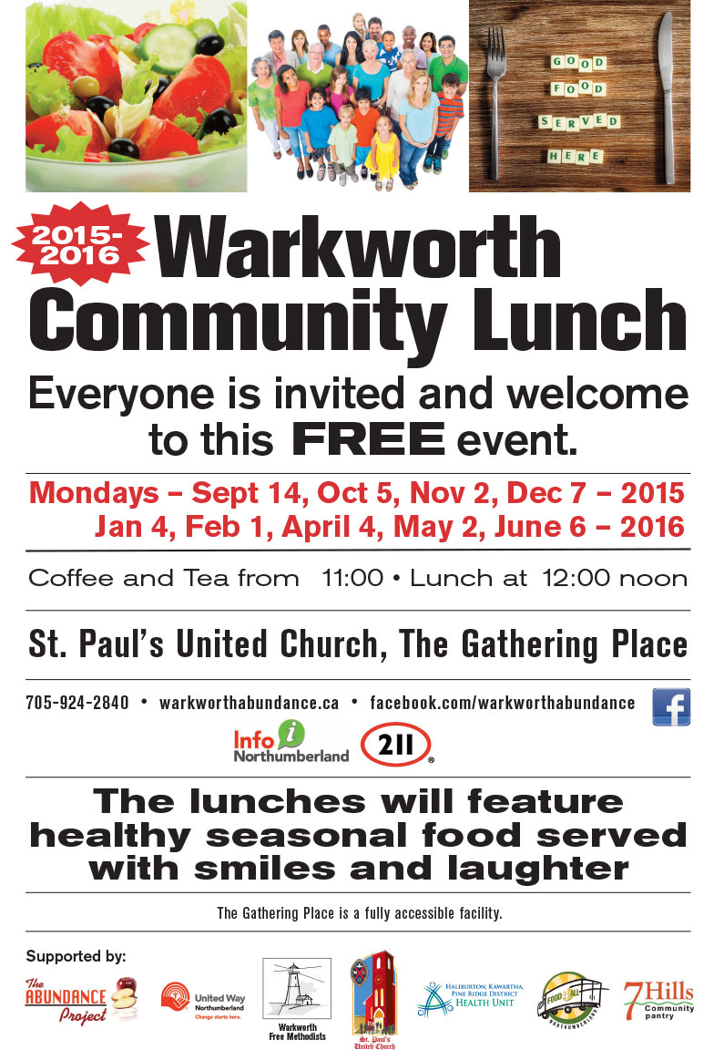 St Pauls Community Lunch 2015