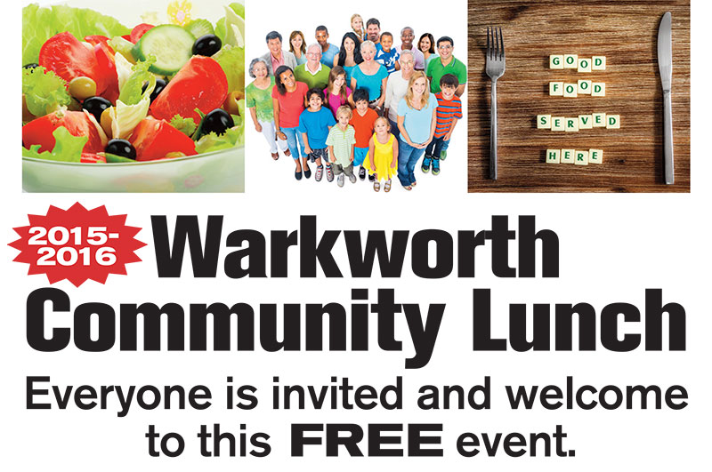 Warkworth Community Lunch